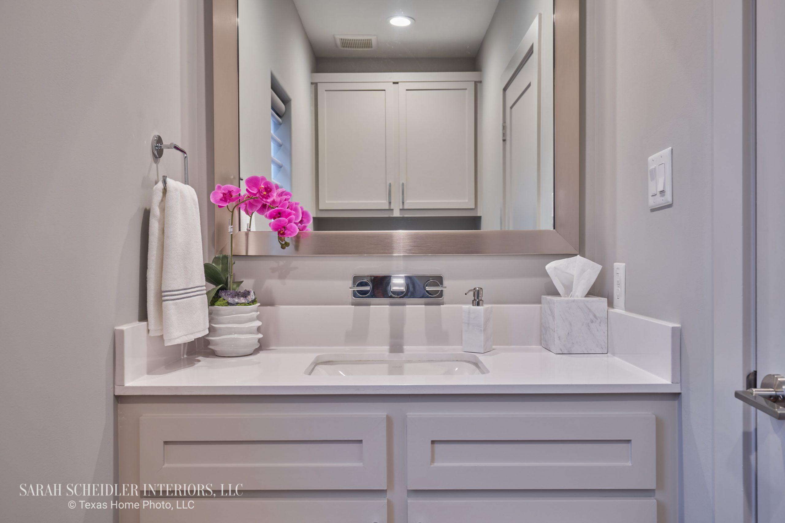 Modern Powder Bathroom Design