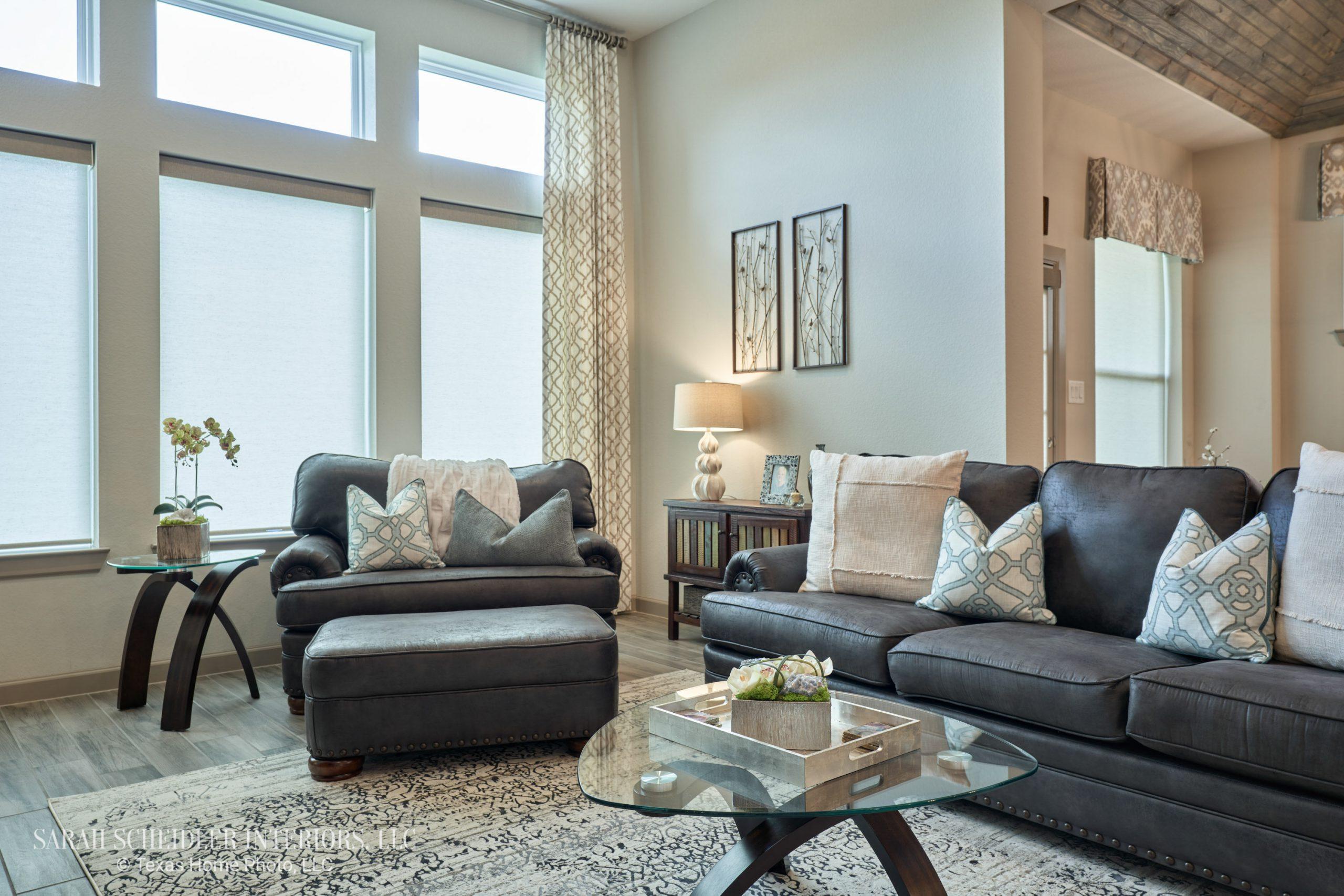 Open-Concept Living Room Design
